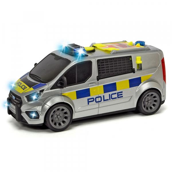Masina de politie Dickie Toys Ford Transit 0