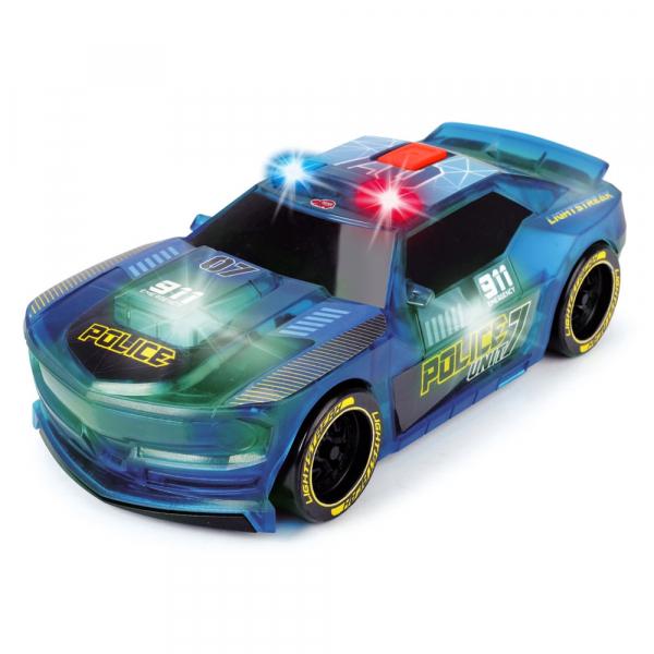 Masina de politie Dickie Toys Lightstreak Police cu sunete si lumini 0
