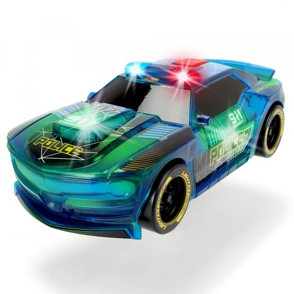 Masina de politie Dickie Toys Lightstreak Police cu sunete si lumini 1