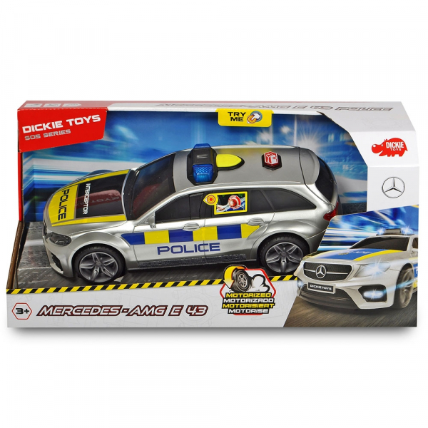 Masina de politie Dickie Toys Mercedes AMG E43 1