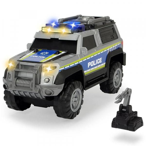 Masina de politie Dickie Toys Police SUV cu accesorii 0