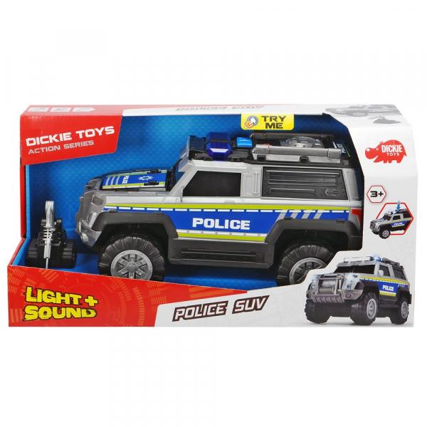 Masina de politie Dickie Toys Police SUV cu accesorii 5