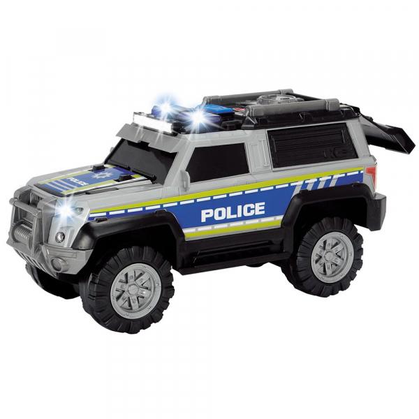 Masina de politie Dickie Toys Police SUV cu accesorii 1