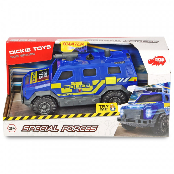 Masina de politie Dickie Toys Special Forces 1