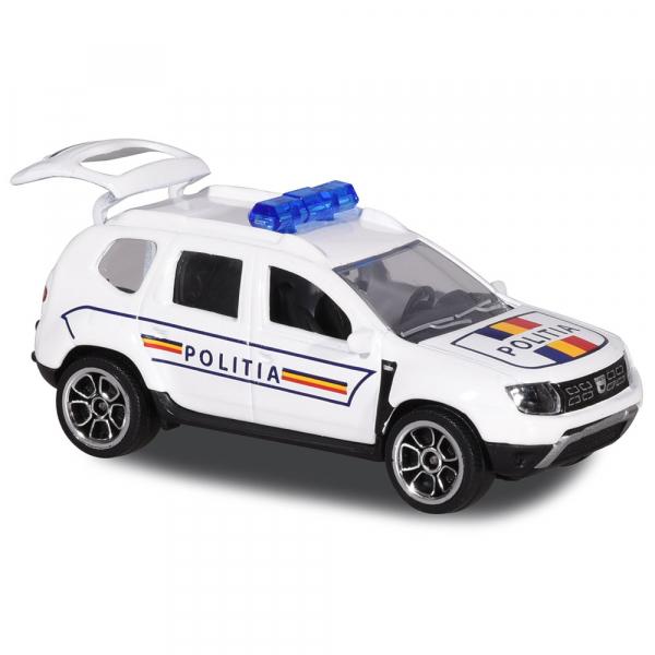 Masina de politie Majorette Dacia Duster 0