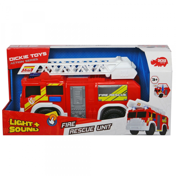 Masina de pompieri Dickie Toys Fire Rescue Unit 5