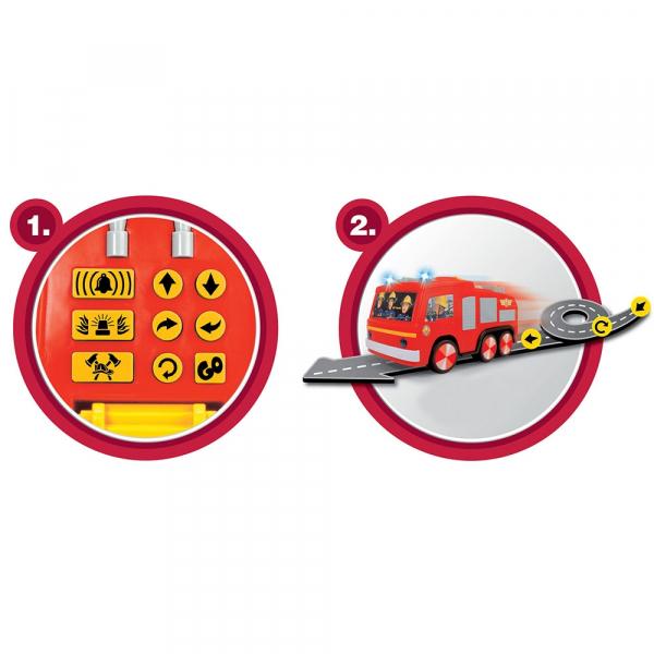 Masina de pompieri Dickie Toys Fireman Sam Super Tech Jupiter [3]