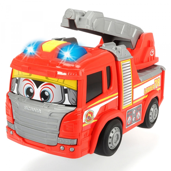 Masina de pompieri Dickie Toys Happy Scania 0