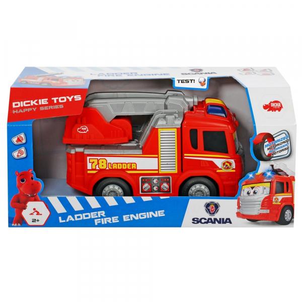 Masina de pompieri Dickie Toys Happy Scania 3