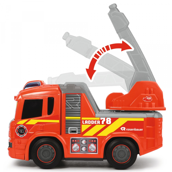 Masina de pompieri Dickie Toys Happy Scania Fire Truck 2