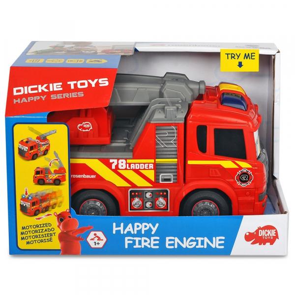 Masina de pompieri Dickie Toys Happy Scania Fire Truck 7