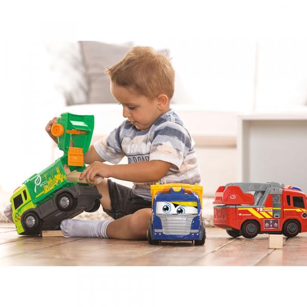 Masina de pompieri Dickie Toys Happy Scania Fire Truck 6