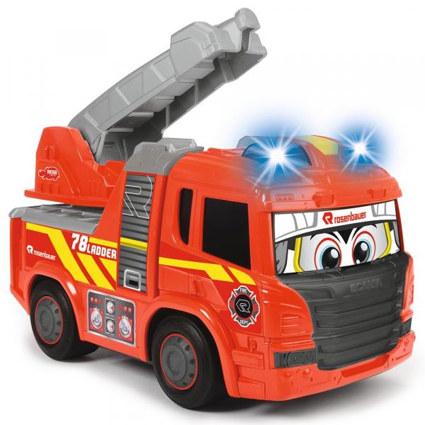 Masina de pompieri Dickie Toys Happy Scania Fire Truck 4