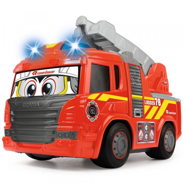 Masina de pompieri Dickie Toys Happy Scania Fire Truck 0