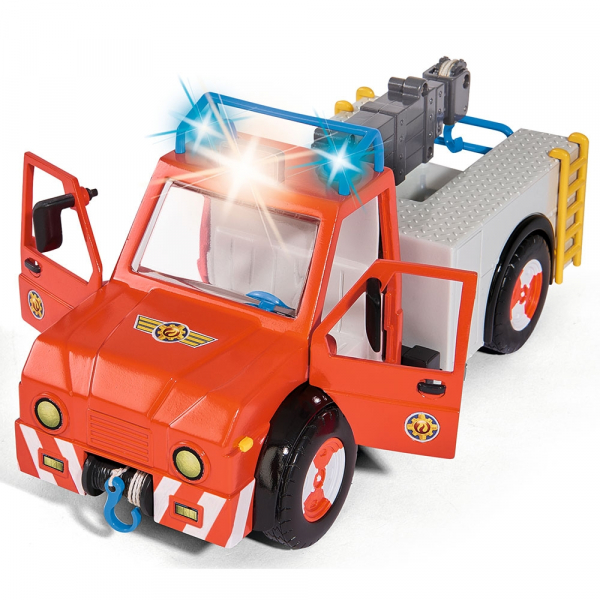 Masina de pompieri Simba Fireman Sam Phoenix cu figurina, cal si accesorii [1]