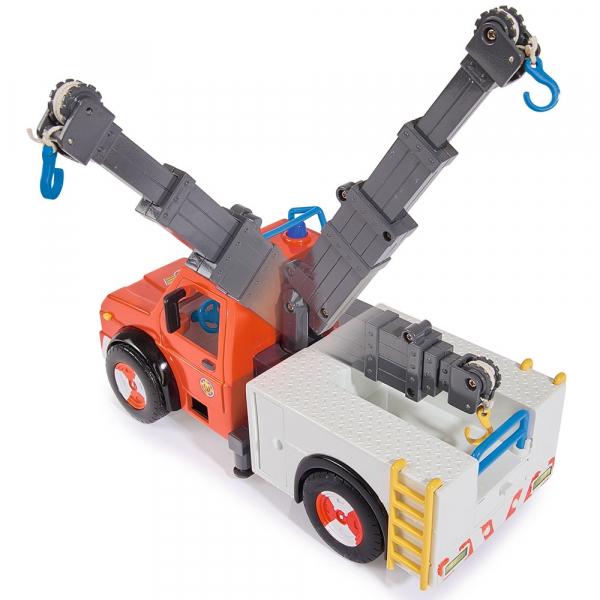 Masina de pompieri Simba Fireman Sam Phoenix cu figurina, cal si accesorii [2]