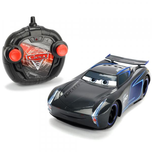 Masina Dickie Toys Cars 3 Turbo Racer Jackson Storm cu telecomanda 0