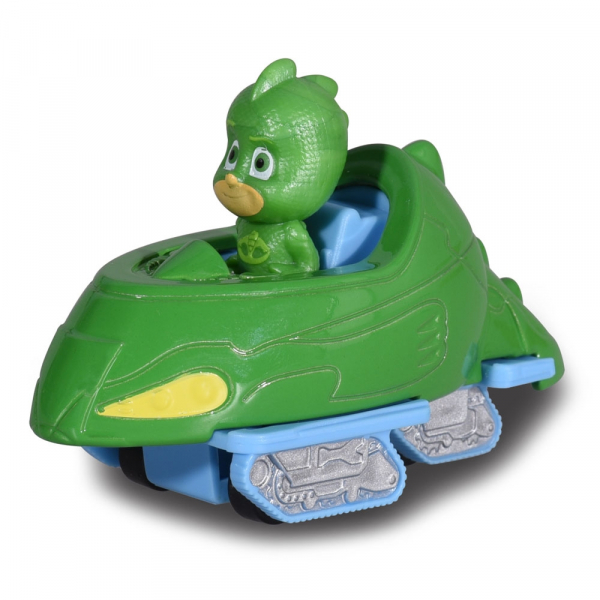 Masina Dickie Toys Eroi in Pijama Gekko-Mobile cu figurina 1