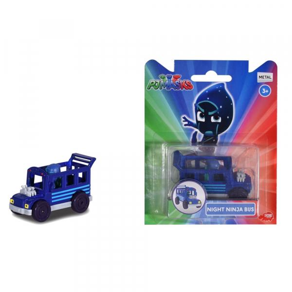 Masina Dickie Toys Eroi in Pijama Night Ninja Bus cu figurina [2]
