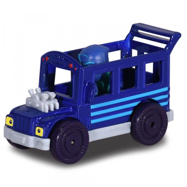 Masina Dickie Toys Eroi in Pijama Night Ninja Bus cu figurina [1]