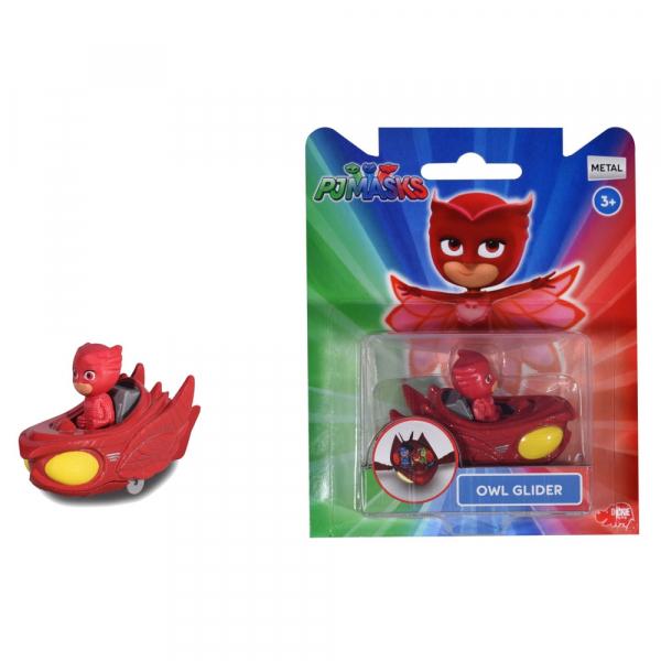 Masina Dickie Toys Eroi in Pijama Owl-Glider cu figurina [2]