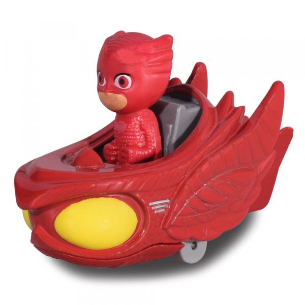 Masina Dickie Toys Eroi in Pijama Owl-Glider cu figurina [1]