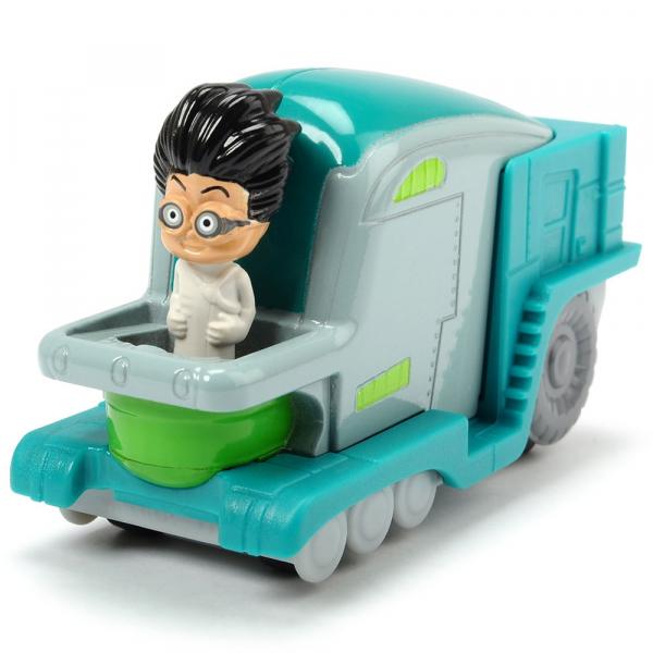 Masina Dickie Toys Eroi in Pijama Romeo's Lab cu figurina 0