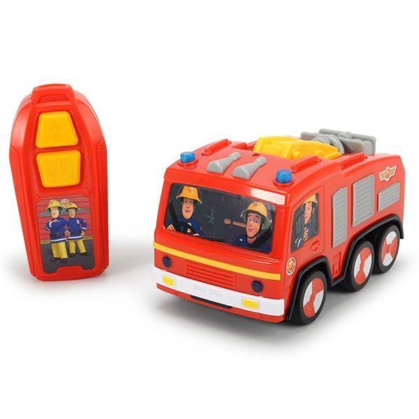 Masina Dickie Toys Fireman Sam Jupiter cu telecomanda 0