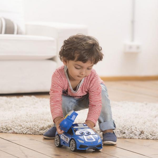 Masina Dickie Toys Happy Police Lamborghini Huracan cu telecomanda 9