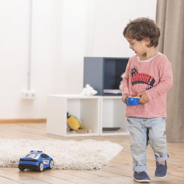 Masina Dickie Toys Happy Police Lamborghini Huracan cu telecomanda 7
