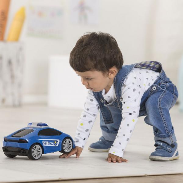 Masina Dickie Toys Happy Police Lamborghini Huracan cu telecomanda 5