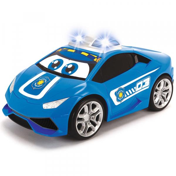 Masina Dickie Toys Happy Police Lamborghini Huracan cu telecomanda 3