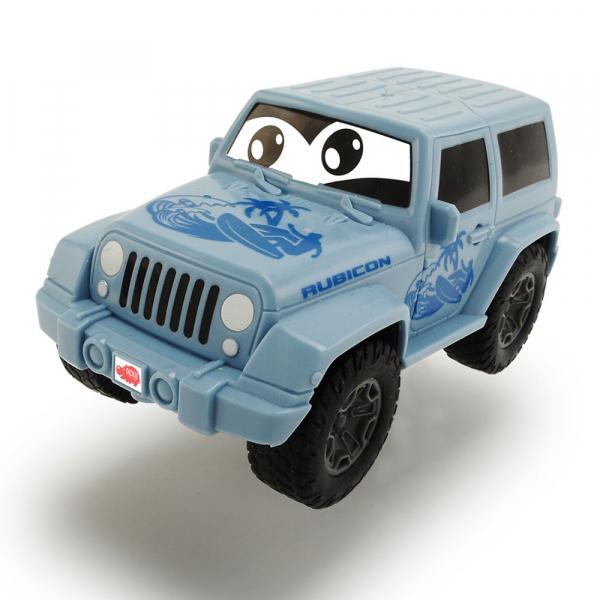 Masina Dickie Toys Jeep Wrangler albastru 0