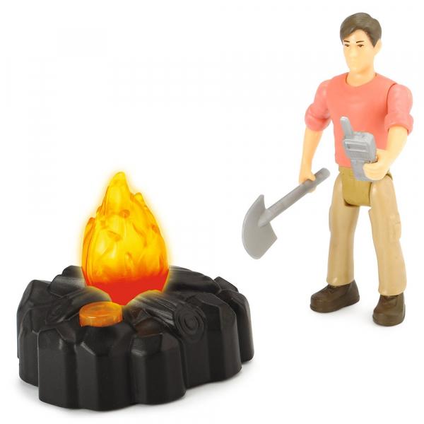Masina Dickie Toys Playlife Adventure Set cu figurina si accesorii 5