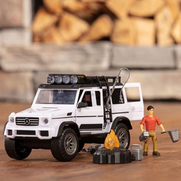 Masina Dickie Toys Playlife Adventure Set cu figurina si accesorii 7