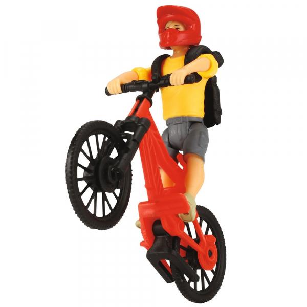 Masina Dickie Toys Playlife Bike Trail Set cu figurina si accesorii [5]