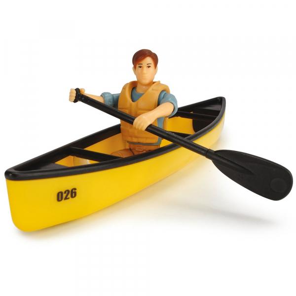 Masina Dickie Toys Playlife Camping Set cu figurina si accesorii [3]
