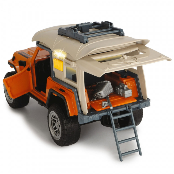Masina Dickie Toys Playlife Camping Set cu figurina si accesorii [2]