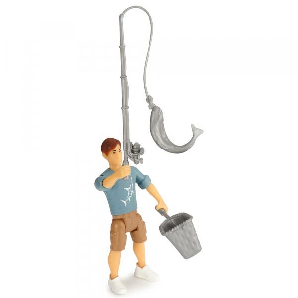 Masina Dickie Toys Playlife Camping Set cu figurina si accesorii [4]