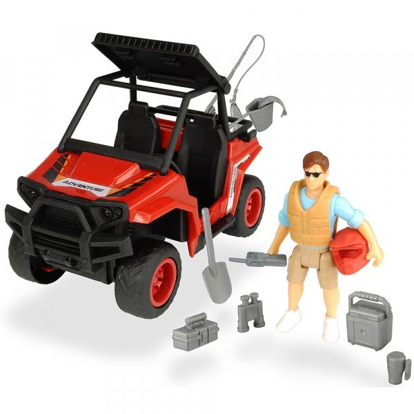 Masina Dickie Toys Playlife Park Ranger cu figurina si accesorii 0