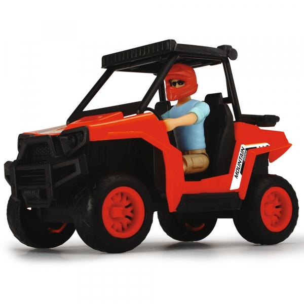 Masina Dickie Toys Playlife Park Ranger cu figurina si accesorii 3