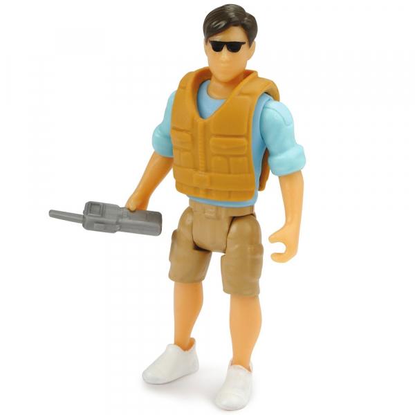Masina Dickie Toys Playlife Park Ranger cu figurina si accesorii 4