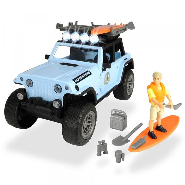 Masina Dickie Toys Playlife Surfer Set cu figurina si accesorii [0]