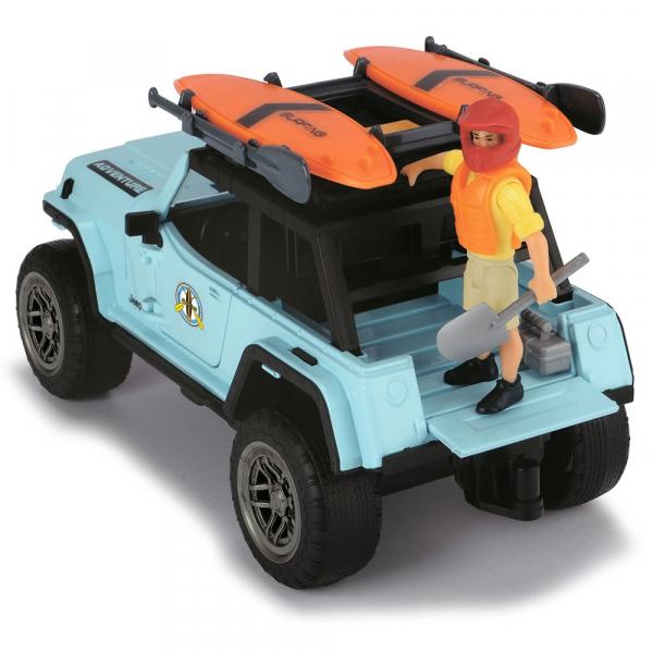 Masina Dickie Toys Playlife Surfer Set cu figurina si accesorii [4]