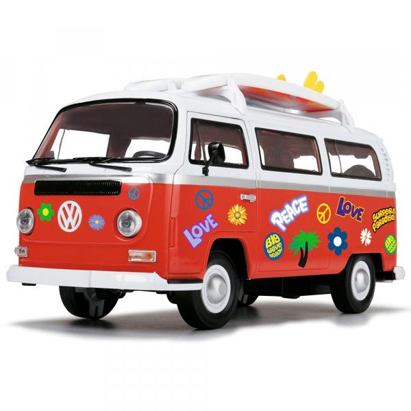 Masina Dickie Toys Volkswagen Surfer Van cu accesorii 1