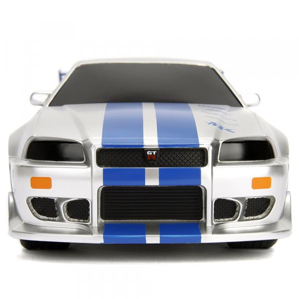 Masina Jada Toys Fast and Furious Nissan Skyline GTR cu telecomanda [1]