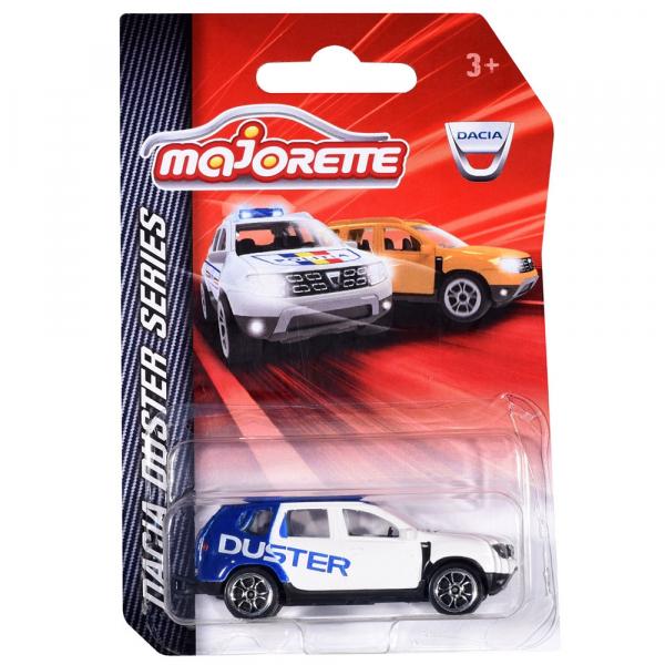Masina Majorette Dacia Duster alb cu albastru 1
