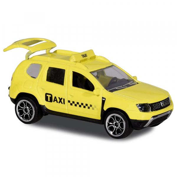 Masina Majorette Taxi Dacia Duster 0