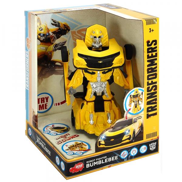 Masina robot transformabil Dickie Toys Bumblebee Transformers Robot Fighter [2]