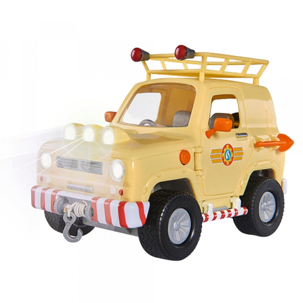 Masina Simba Fireman Sam Tom's 4x4 cu 1 figurina si accesorii [3]